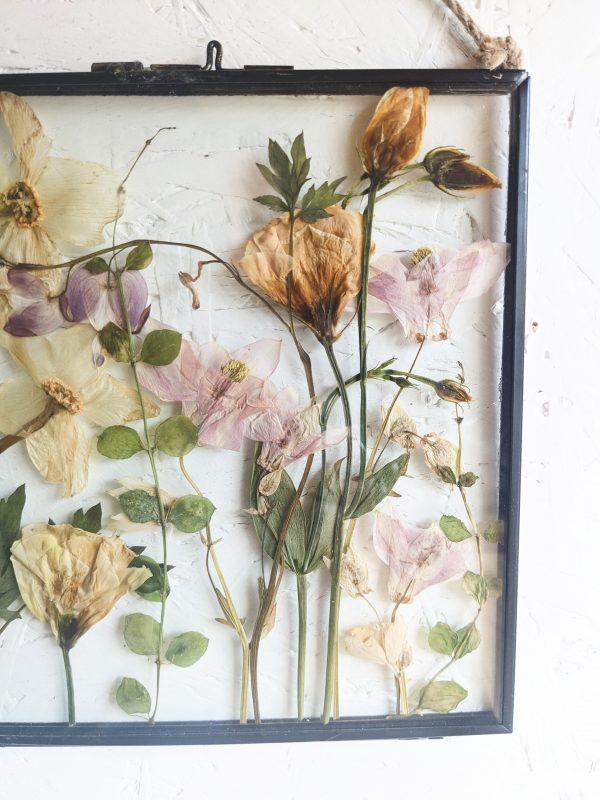 spring nudes, pressed wild flowers, preservation, wedding, gift